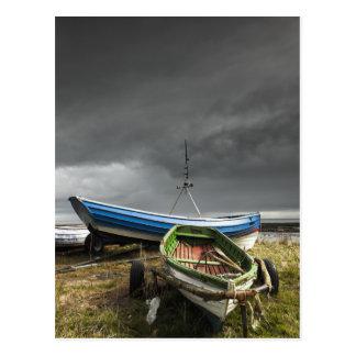 Rowboats On The Shore | England Postcard