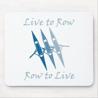 RowChick Live to Row Mouse Pad