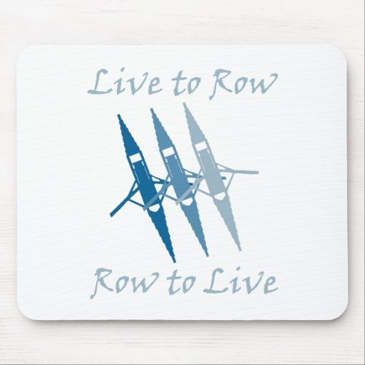 RowChick Live to Row Mouse Pad