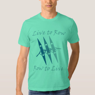 RowChick Live to Row Tee Shirt