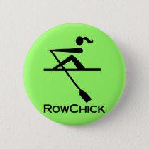 RowChick Logo Pinback Button