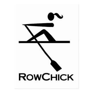 RowChick Logo Postcard