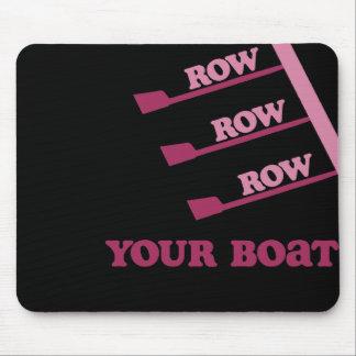 RowChick Row Row Row Your Boat Mouse Pad