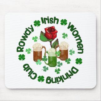 Rowdy Irish Women Mouse Pad