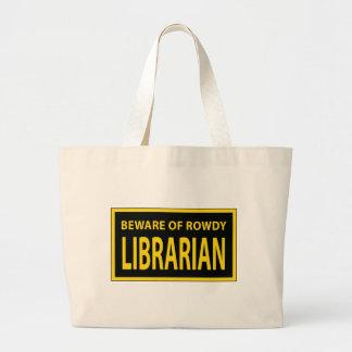 Rowdy Librarian Bag