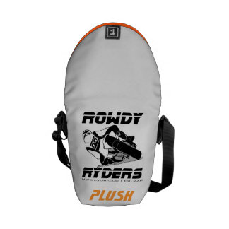 Rowdy Personalized Messenger Bag