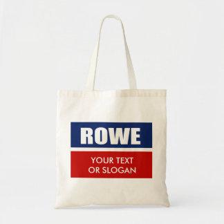 ROWE 2010 CANVAS BAG