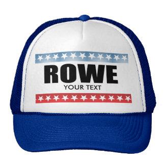 ROWE 2010 TRUCKER HATS