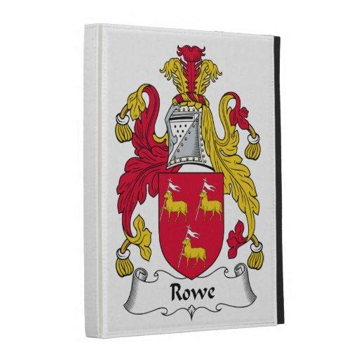 Rowe Family Crest iPad Cases