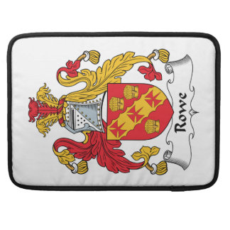 Rowe Family Crest Sleeve For MacBook Pro