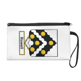Rowell Family Crest Wristlets