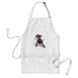 Rowen action art adult apron