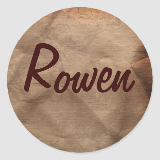 ROWEN Name Stickers Collection