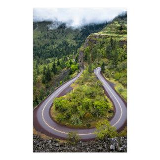 Rowena Crest Loops - Oregon Stationery