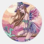 Rowenia - Witch and Dragon Sticker