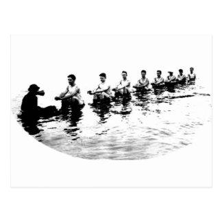 Rower de hundimiento del equipo de 8 hombres postales