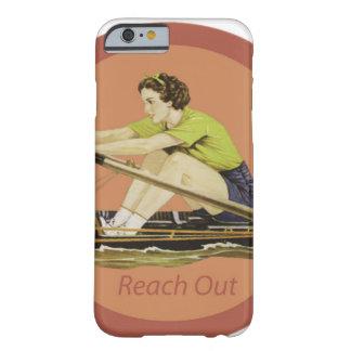 Rower de la mujer del vintage funda barely there iPhone 6