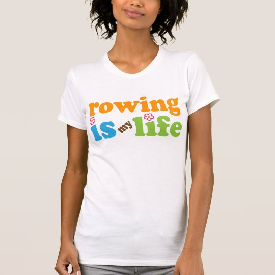 Rower Gift Girls T-Shirt