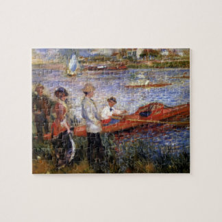 Rowers from Chatou by Pierre Renoir Puzzles