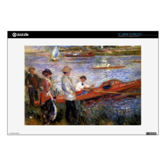 Rowers from Chatou by Pierre Renoir Decal For Laptop