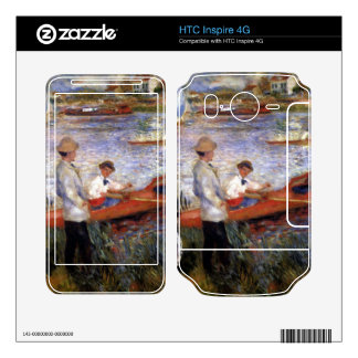Rowers from Chatou by Pierre Renoir HTC Inspire 4G Decal