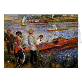 Rowers Of Chatou By Pierre-Auguste Renoir Greeting Card