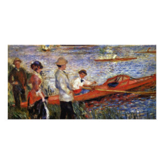 Rowers Of Chatou By Pierre-Auguste Renoir Photo Card Template