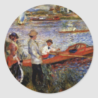 Rowers Of Chatou By Pierre-Auguste Renoir Sticker
