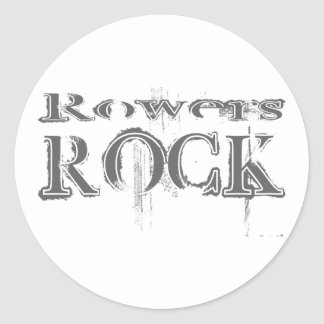 Rowers Rock Stickers