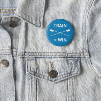 Rowers train to win motivational crew button