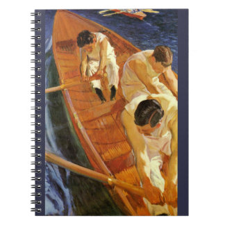 Rowing 1910 notebook