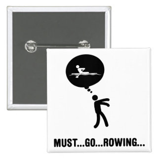Rowing 2 Inch Square Button