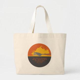 Rowing Backsplash Large Tote Bag