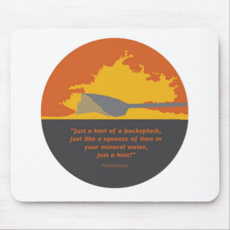 Rowing Backsplash Mouse Pad