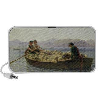 Rowing-Boat, 1863 iPod Speakers