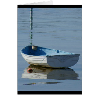 Rowing Boat Card