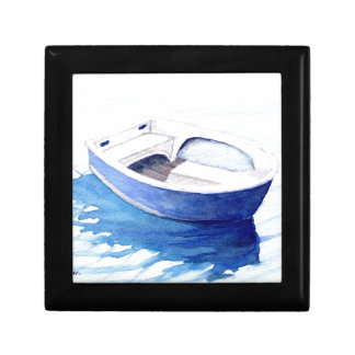 Rowing boat jewelry box