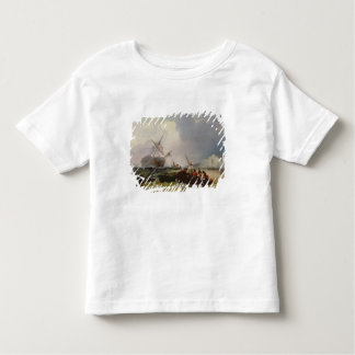 Rowing Boat Going to the Aid of a Man-o'-War in a Toddler T-shirt