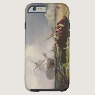 Rowing Boat Going to the Aid of a Man-o'-War in a Tough iPhone 6 Case