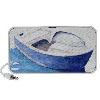 Rowing boat iPhone speaker