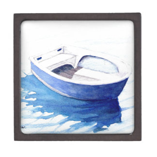 Rowing boat jewelry box