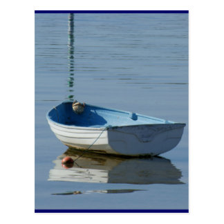 Rowing Boat Postcard