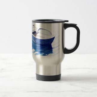 Rowing boat travel mug