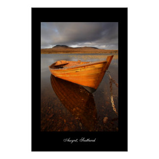 Rowing Boat (vertical) Poster by cARTerART