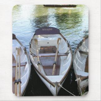 Rowing boats at Stratford upon Avon, UK Mouse Pad