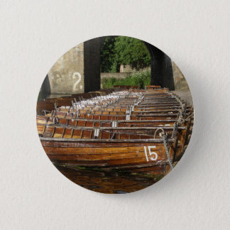 Rowing Boats Button Badge
