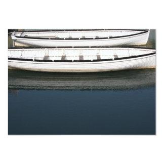 Rowing Boats Card 13 Cm X 18 Cm Invitation Card