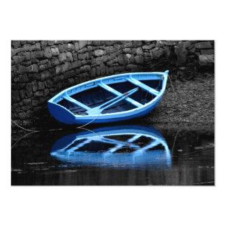 "Rowing Boats Invitation 5"" X 7"" Invitation Card"