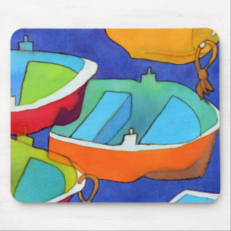 Rowing Boats Mousemat Mouse Pad