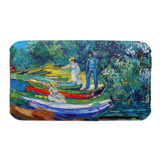 Rowing Boats on the Banks of the Oise Case-Mate iPhone 3 Case